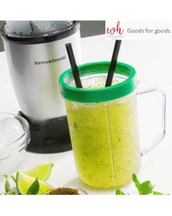 One Touch Bullet blender with recipe book