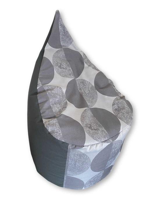 Gray bean bag