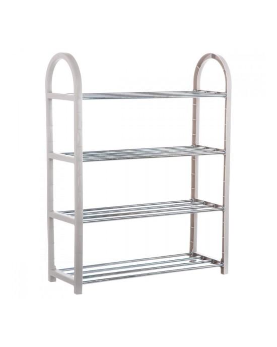 Shoe rack grey