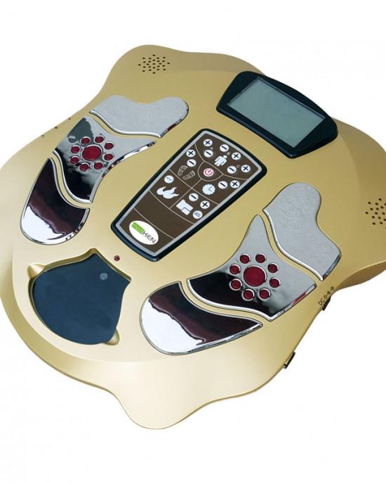 Electromagnetic stimulation foot massager