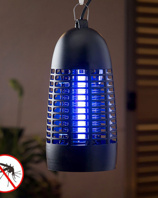 Electric mosquito control lamp