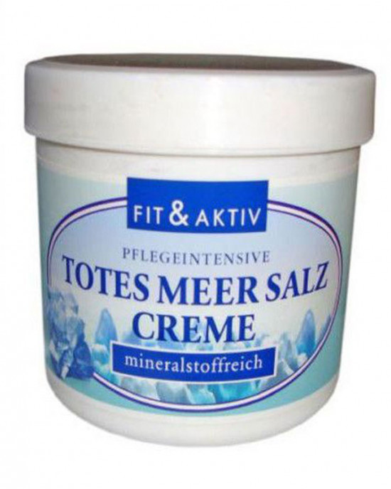 Dead sea salt cream