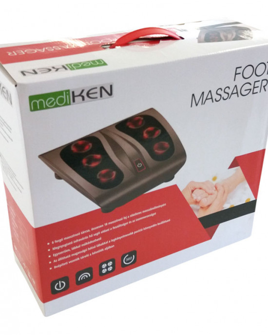 Thermotherapy foot massager