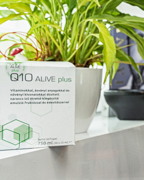 Q10 Alive Plus drinking cure