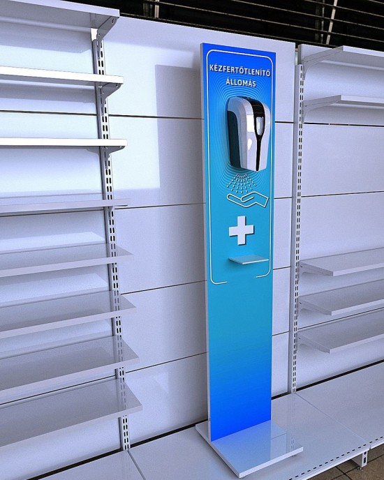 Non-contact hand sanitizer dispenser