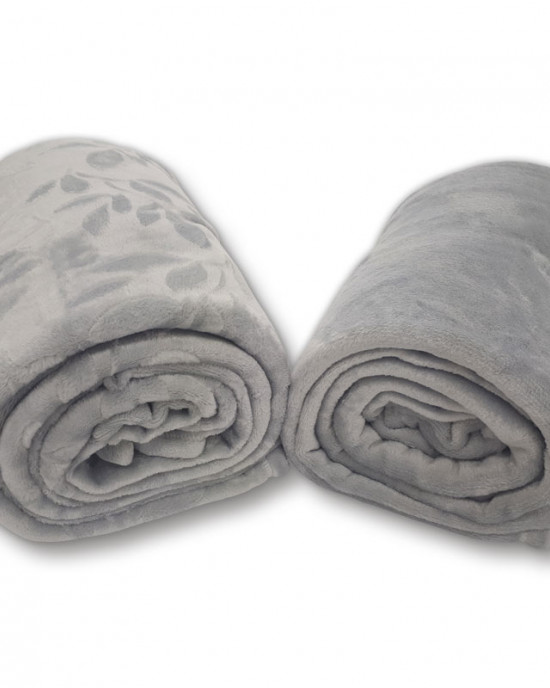 Plush blanket set 2 pc.