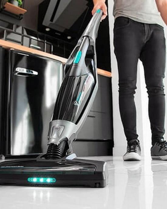 Cordless vacuum cleaner and crumb vacuum cleaner